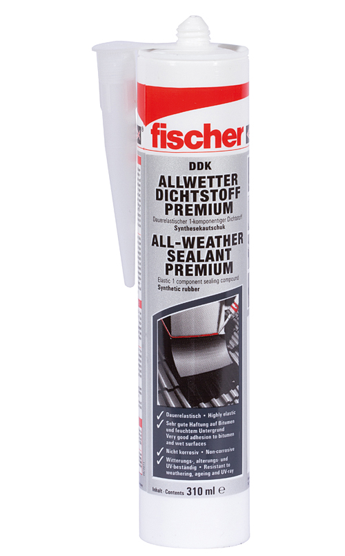 Fischer DDK – prémiový tesniaci tmel odolný poveternostným podmienkam
