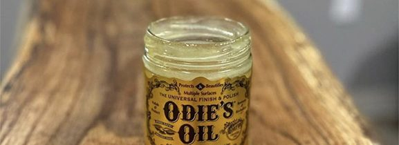 Odie´ s oil – univerzálny olej na povrchovú úpravu